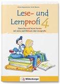 Lese- und Lernprofi 4 - Schülerarbeitsheft - silbierte Ausgabe