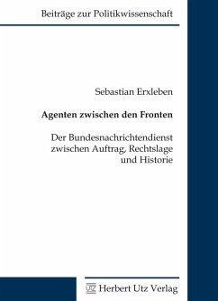 Agenten zwischen den Fronten (eBook, PDF) - Erxleben, Sebastian