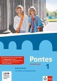 Pontes Gesamtband 1. Arbeitsheft mit Audio-CD und Übungssoftware