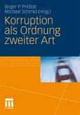 Korruption als Ordnung zweiter Art (eBook, PDF)