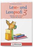 Lese- und Lernprofi 3 NEU - Schülerarbeitsheft - silbierte Ausgabe