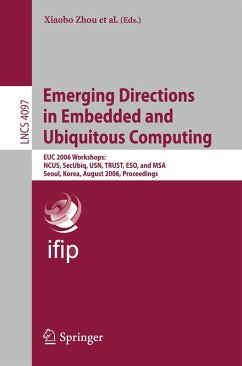 Emerging Directions in Embedded and Ubiquitous Computing (eBook, PDF)