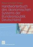 Handwörterbuch des ökonomischen Systems der Bundesrepublik Deutschland (eBook, PDF)