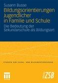 Bildungsorientierungen Jugendlicher in Familie und Schule (eBook, PDF)