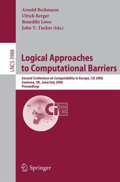 Logical Approaches to Computational Barriers (eBook, PDF)
