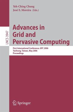 Advances in Grid and Pervasive Computing (eBook, PDF)