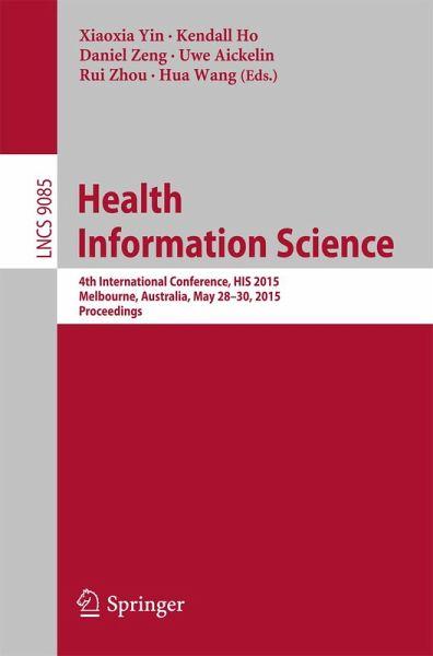 Health Information Science eBook, PDF  buecher.de