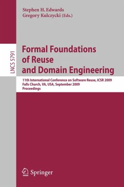 Formal Foundations of Reuse and Domain Engineering (eBook, PDF)