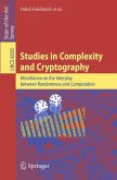 Studies in Complexity and Cryptography (eBook, PDF)