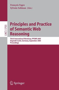 Principles and Practice of Semantic Web Reasoning (eBook, PDF)