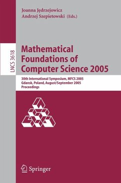 Mathematical Foundations of Computer Science 2005 (eBook, PDF)