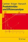 Produktivitäts- und Effizienzanalyse (eBook, PDF)