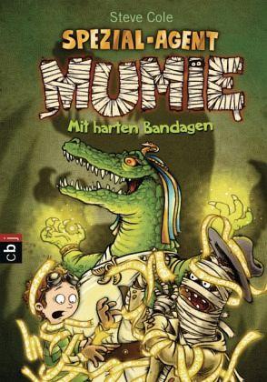 Buch-Reihe Spezial-Agent Mumie
