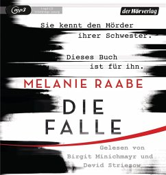 Die Falle, 1 MP3-CD - Raabe, Melanie