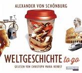 Weltgeschichte to go, 4 Audio-CDs