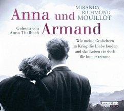 Anna und Armand, 6 Audio-CDs - Mouillot, Miranda Richmond