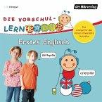 Die Vorschul-Lernraupe: Erstes Englisch, 1 Audio-CD