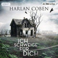 Ich schweige für dich, 1 MP3-CD - Coben, Harlan