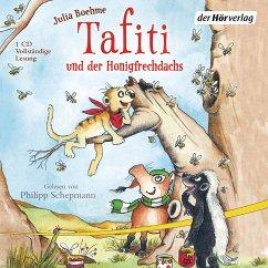 Tafiti und der Honigfrechdachs / Tafiti Bd.7 (1 Audio-CD) - Boehme, Julia