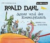 James und der Riesenpfirsich, 3 Audio-CDs