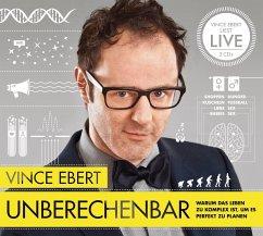 Unberechenbar, 2 Audio-CDs - Ebert, Vince