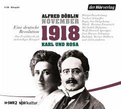 November 1918. Eine deutsche Revolution, 3 Audio-CDs - Döblin, Alfred