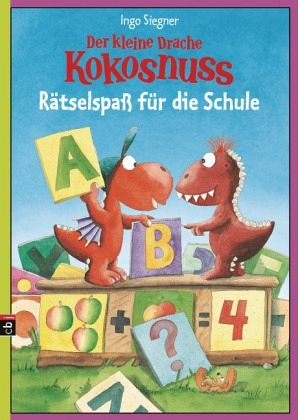 der kleine drache kokosnuss r tselspa f r die schule von ingo siegner buch b. Black Bedroom Furniture Sets. Home Design Ideas