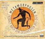 Metamorphosen - Erzählt nach den Geschichten des Ovid, 4 Audio-CDs