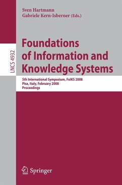 Foundations of Information and Knowledge Systems (eBook, PDF)