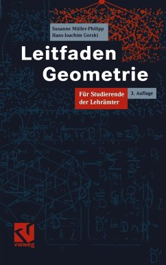 Leitfaden Geometrie (eBook, PDF) - Müller-Philipp, Susanne; Gorski, Hans-Joachim