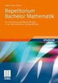 Repetitorium Bachelor Mathematik (eBook, PDF)