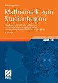 Mathematik zum Studienbeginn (eBook, PDF)