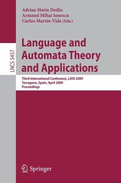 Language and Automata Theory and Applications (eBook, PDF)