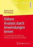 Höhere Analysis durch Anwendungen lernen (eBook, PDF)