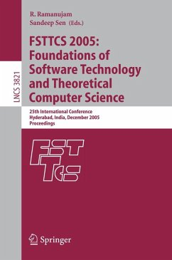 FSTTCS 2005: Foundations of Software Technology and Theoretical Computer Science (eBook, PDF)