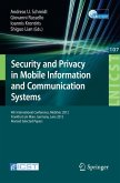 Security and Privacy in Mobile Information and Communication Systems (eBook, PDF)