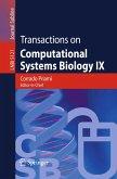 Transactions on Computational Systems Biology IX (eBook, PDF)