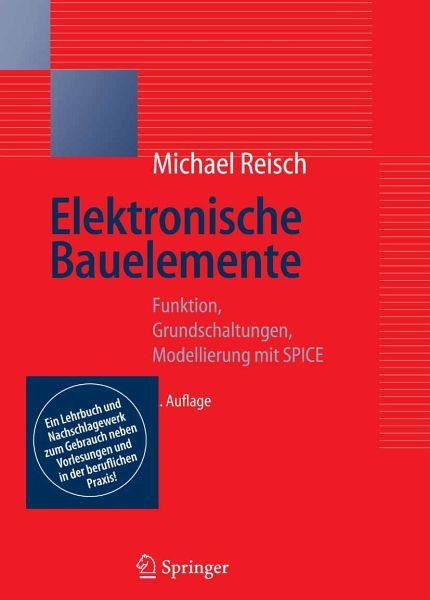 elektronische bauelemente ebook pdf von michael reisch. Black Bedroom Furniture Sets. Home Design Ideas