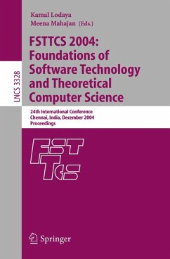 FSTTCS 2004: Foundations of Software Technology and Theoretical Computer Science (eBook, PDF)