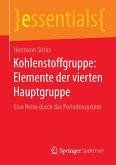 Kohlenstoffgruppe: Elemente der vierten Hauptgruppe (eBook, PDF)