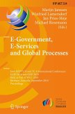 E-Government, E-Services and Global Processes (eBook, PDF)