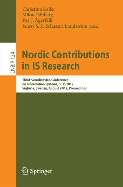 Nordic Contributions in IS Research (eBook, PDF)