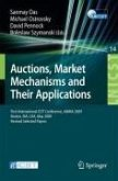 Auctions, Market Mechanisms and Their Applications (eBook, PDF)