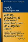 Modelling, Computation and Optimization in Information Systems and Management Sciences (eBook, PDF)