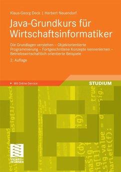 Java-Grundkurs für Wirtschaftsinformatiker (eBook, PDF) - Deck, Klaus-Georg; Neuendorf, Herbert