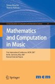 Mathematics and Computation in Music (eBook, PDF)