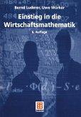Einstieg in die Wirtschaftsmathematik (eBook, PDF)