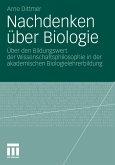 Nachdenken über Biologie (eBook, PDF)