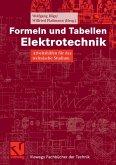 Formeln und Tabellen Elektrotechnik (eBook, PDF)