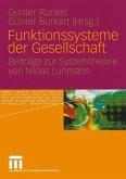 Funktionssysteme der Gesellschaft (eBook, PDF)